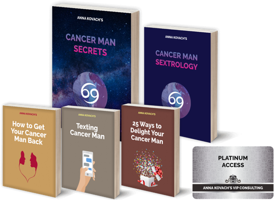 Cancer Man Secrets — Put That Hot Cancer Man Under Your Spell
